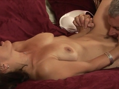 Amazing pornstar in Best Cunnilingus, Brunette sex video