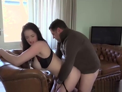 Ass To Mouth - Tina Blade sucks cock after getting her ass fucked hard