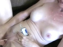 Smoking session with my vibrator