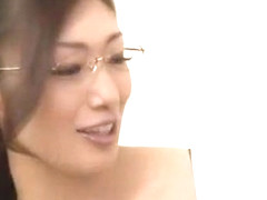 Exotic Japanese slut Reiko Kobayakawa in Amazing Blowjob/Fera JAV video