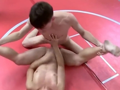 Primal Mixed Wrestling - Girl Defeated