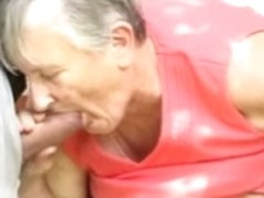 Ugly grannies getting fucked in the fanny