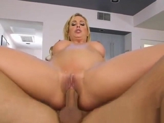 Blonde Mature Hoe Cherie Deville Gets Pleasured By Plumber