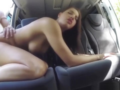 Felicia - Hitchhiking Student Gives Blowjob - Stranded Teens