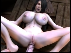 3D futa and anal