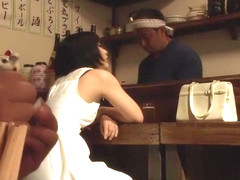 Hottest Japanese model Miku Abeno in Crazy threesomes, creampie JAV clip