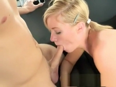 Wild blonde with perky boobs Naomi Cruise gets fucked in the back seat