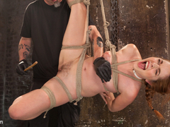 Amarna Miller in Sexy Spanish Slut Bound With Pain, Hot Wax And Orgasms - HogTied