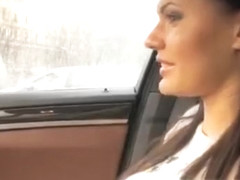 Hitchhiker Teen Kitana Lure Gets Anal Screwed Inside The Car