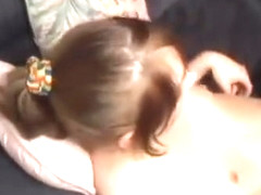 Girl With Pigtails Get Laid And Girl With Small Tits Fucks