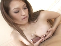 Hikaru Hozuki Asian doll gets a hard cock ride
