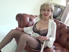 Adulterous english milf gill ellis exposes her monster tits