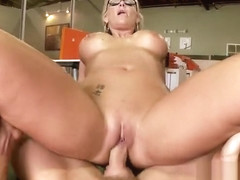 Cock sucking sex video featuring Emily Austin, Phoenix Marie and Aleska Diamond