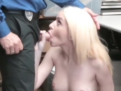 Police woman gagged xxx Attempted Thieft