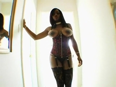 Big Tit Jada Fire Can Barely Fit Lexington's Cock Inside Her