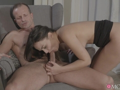 Anina Silk & George in Wet For You - MomXXX