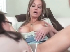 Threesome sex video featuring Kristin, Mia McKinley and Brianna Ray