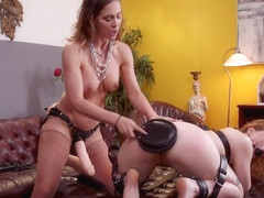 Cherie DeVille & Ella Nova & Derrick Pierce in Mommy's Girl: Anal Slut Didn't Save Enough Pussy Fo.