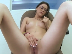 Kandi Milan loves sucking big dongs well