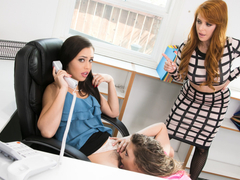 Penny Pax,Elena Koshka,Alina Lopez in Lady Boss : Bait & Switch - GirlsWay