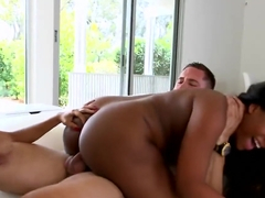Monique and Simone engage in steamy threesome with horny white dude