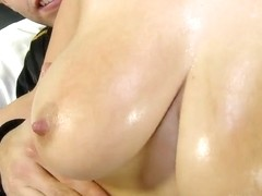 Succulent Klaudia Hot swallows a meaty dong deeply