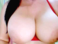 Hot Webcam Girl with Massive Tits