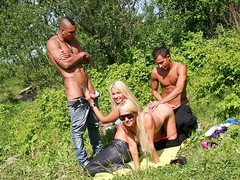 two blondes in a dream pickup porn