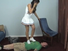 Miss Tiffany Cheerleader Trample