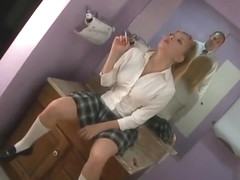 Aiden Starr sexy smoking