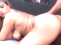 Horny pornstar Angel Lima in hottest big tits, big butt sex scene