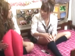 Exotic Japanese model Marina Morito, Risa Hano, Sakura Kiryu in Amazing Fingering JAV movie