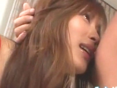 Crazy Japanese chick Ryoko Mitake in Amazing Group Sex JAV clip