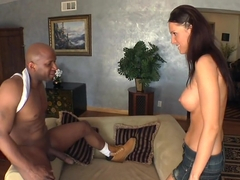 Jennifer Dark likes her men Dark