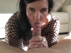 BODYSTOCKING BLOWJOB