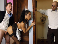 Kira Noir & Van Wylde in Up and Cummer - BrazzersNetwork