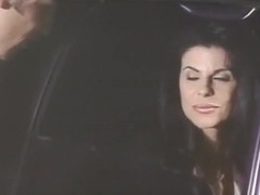 Kay Parker Gets Her Kitty Licked Clean in the Back Seat of a Limo