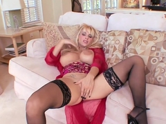Fabulous pornstar Holly Halston in exotic big tits, lingerie porn clip