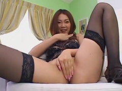 Horny Japanese girl Asami Ogawa in Amazing Facial, POV JAV video