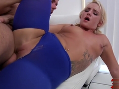 Cali Carter Riding It Hard