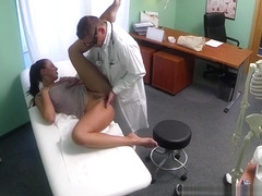 Young Amateur Gets Probed And Boned At The Doctor's Office