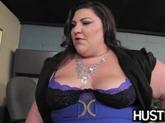 BBW goddess Bella Bendz bent over and smashed passionately