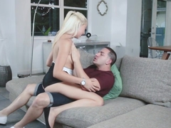 Bubbly babe Jessica Jones gets fucked form behind