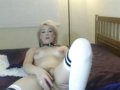 Kinky CumSlut Dixie finger fucks her pussy and uses a dildo to get off with multiple orgasams