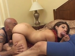 Brunette Indian Girl Gets Fucked In Her Bald Cunt