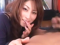 Incredible Japanese girl Karen Kisaragi in Fabulous Ass, Couple JAV movie