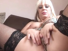 Loz Lorrimar Plays With Her Pussy