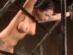 Admirable Alexa Aimes featuring real BDSM action