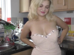 Naughty Felicity enjoys downblouse time with friends compilation