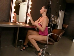 Sultry Aletta Ocean couldn't wait to work on her eager slits for one hot or...